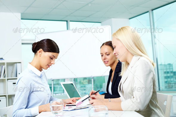Businesswomen at work - Stock Photo - Images