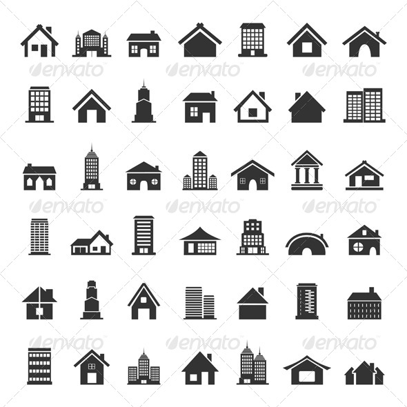 GraphicRiver Home Icons 6534447