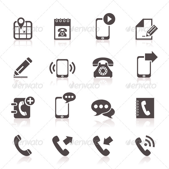 GraphicRiver Phone Icons 5 6534537