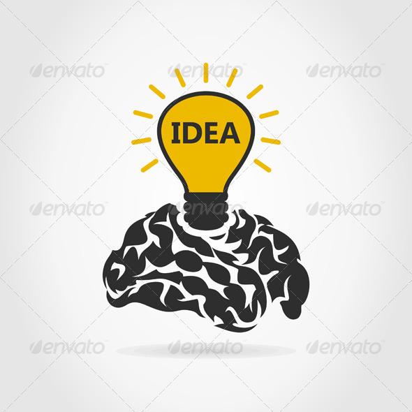 GraphicRiver Idea of a Brain 6534539