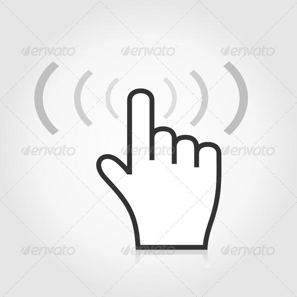 GraphicRiver Index a Hand 6534543