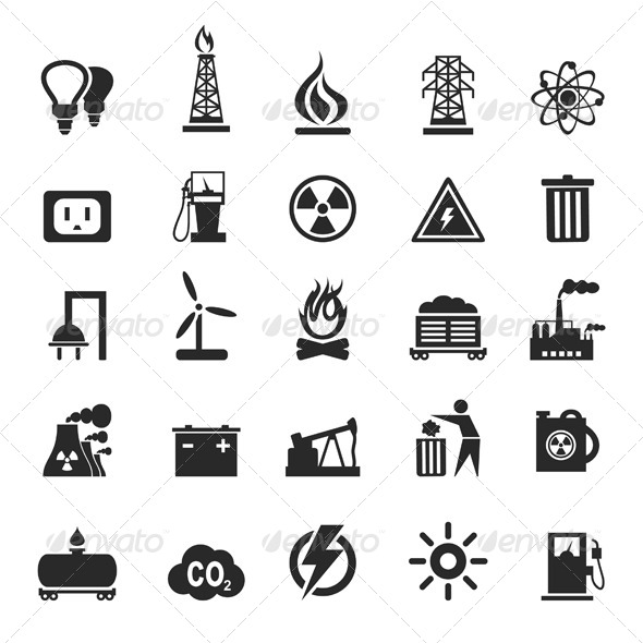 GraphicRiver Industrial Icons 3 6534544