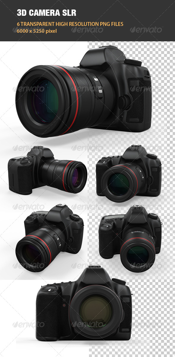 GraphicRiver 3D Camera SLR 6534558