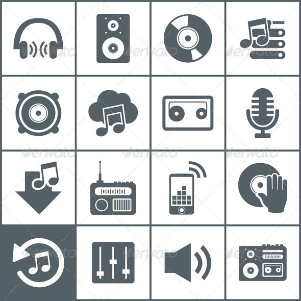GraphicRiver Musical Icons 6534600