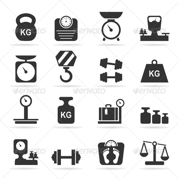 GraphicRiver Scales Icons 6534799