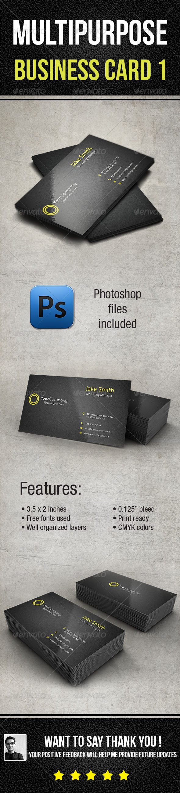 GraphicRiver Multi-Purpose Business Card 1 6534955