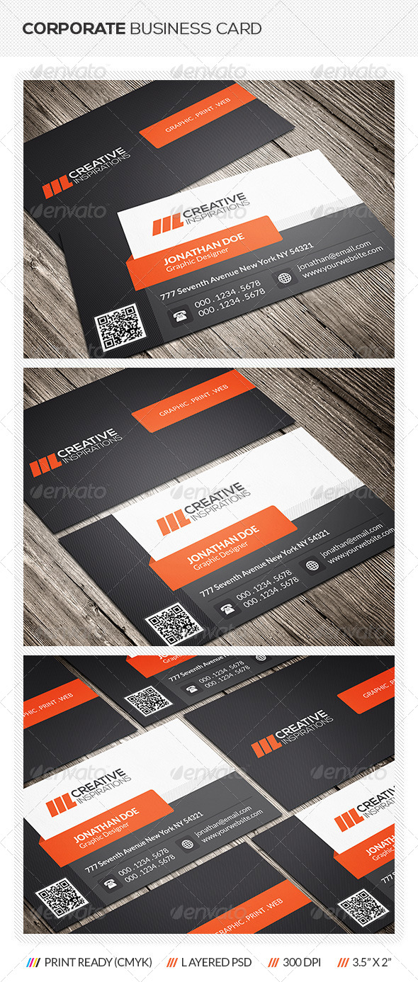 GraphicRiver Creative Corporate Business Card 6534970