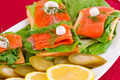 Salmon sandwiches - PhotoDune Item for Sale