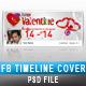 Valentine Facebook Timeline 07 - GraphicRiver Item for Sale