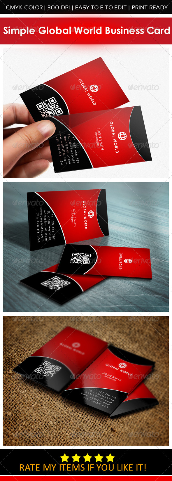 GraphicRiver Simple Business Card 6338480