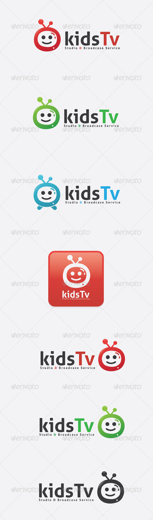 GraphicRiver Kids Tv Logo 6511228