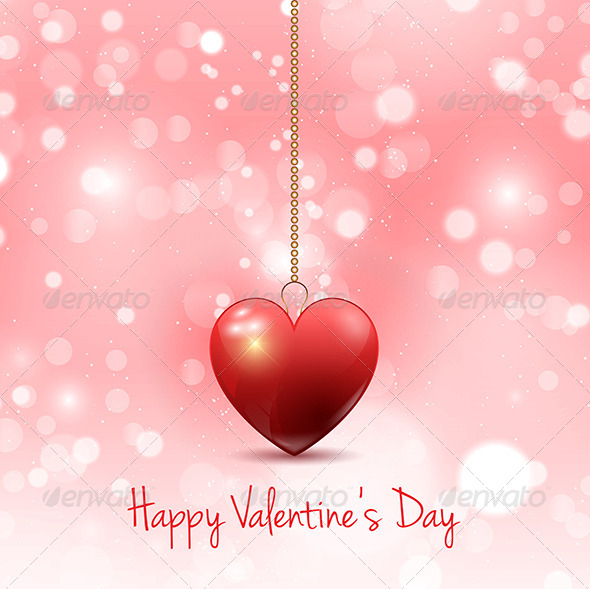 GraphicRiver Valentine s Day Background 6536457