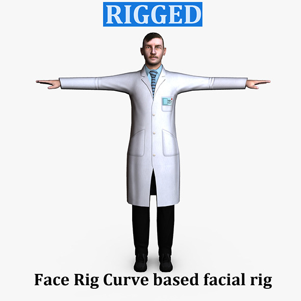 3DOcean Surgeon Male 01 6536460