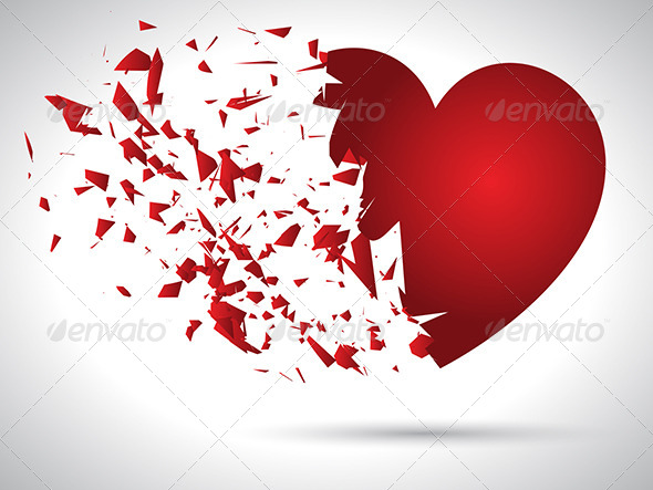 GraphicRiver Exploding Heart 6536464