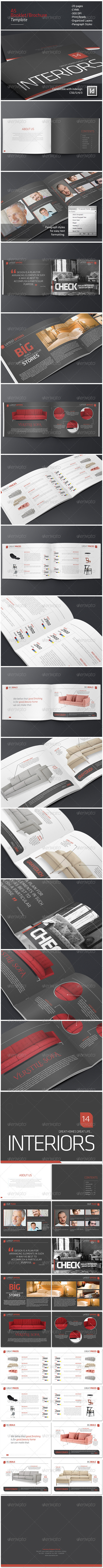 GraphicRiver A5 Booklet Catalogue Brochure 6536524
