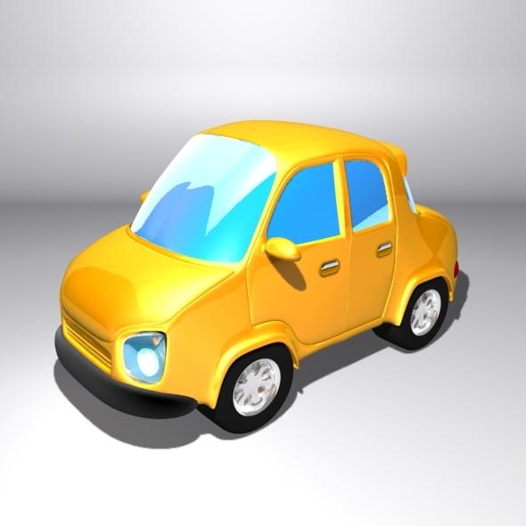 3DOcean Cartoon City Car 6536542