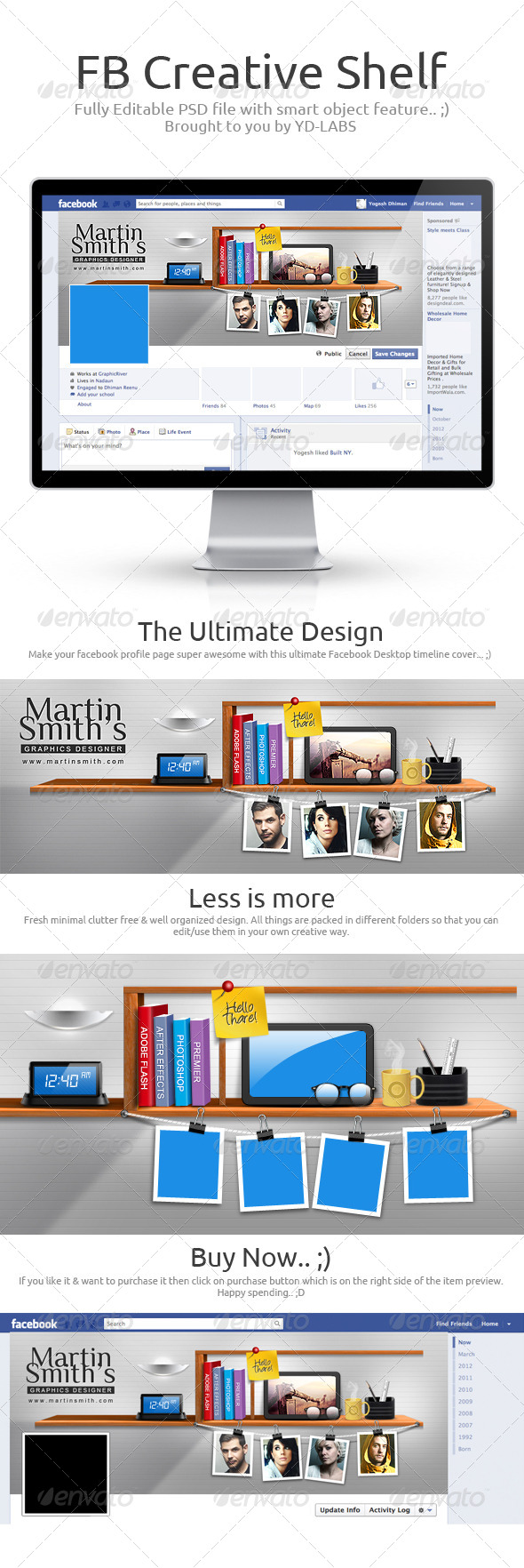 GraphicRiver FB Creative Shelf 6536743