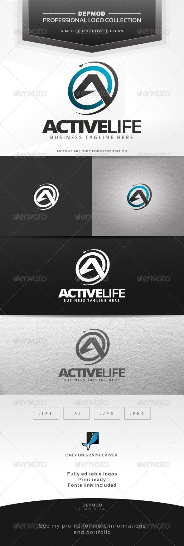 GraphicRiver Active Life Logo 6536756