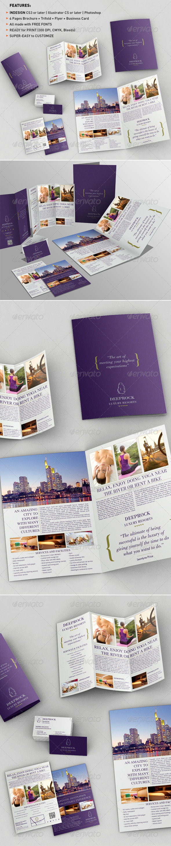 GraphicRiver Bifold Brochure & Trifold & Flyer & BC Templates 1537817