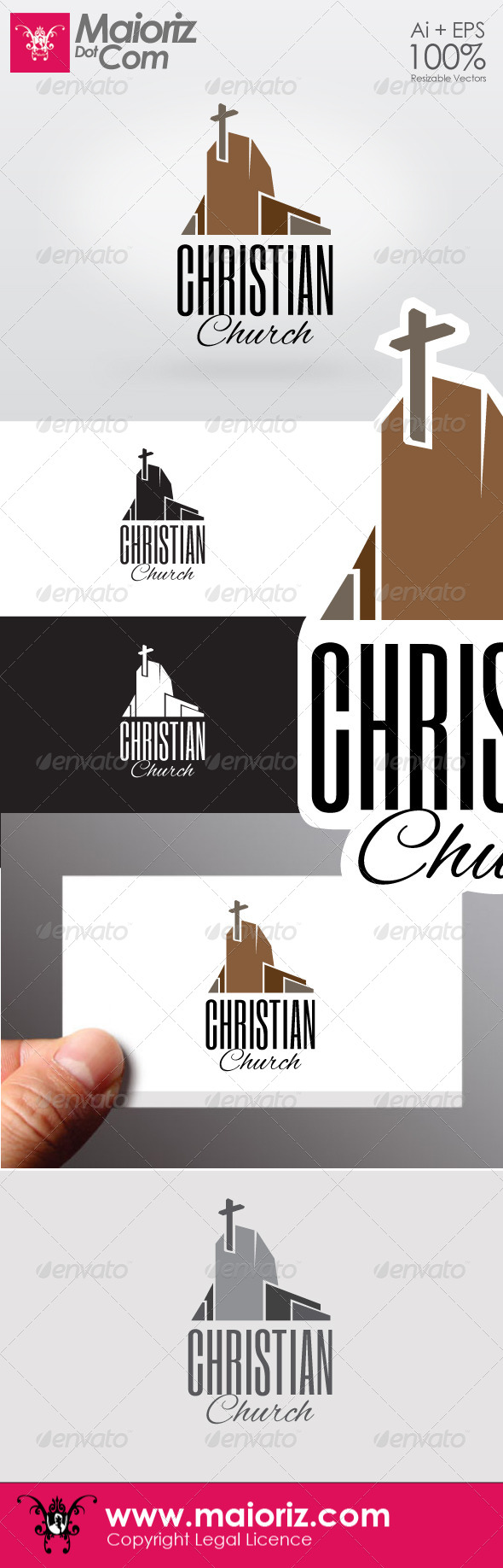 GraphicRiver Christian Chruch Logo 6537006