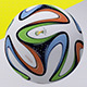 Brazuca Ball 3D Model - 3DOcean Item for Sale