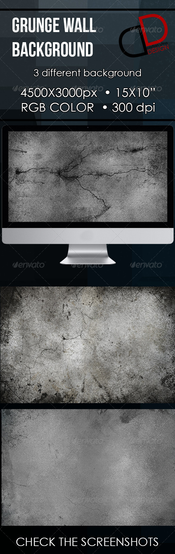 GraphicRiver Grunge Wall Background 6537061