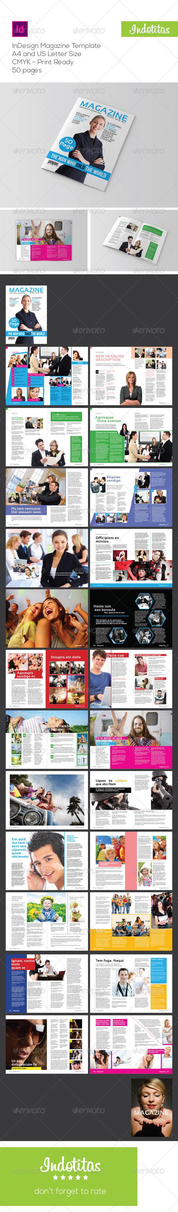 GraphicRiver InDesign Magazine Template 6537100