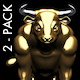 Bull - Pack of 2 - VideoHive Item for Sale