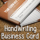 HandWriting Business Card