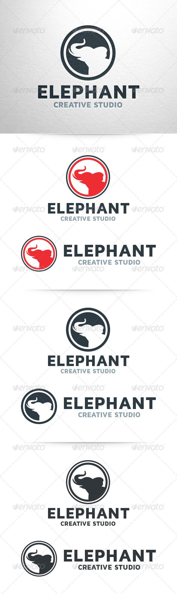 GraphicRiver Elephant Logo Template 6537254