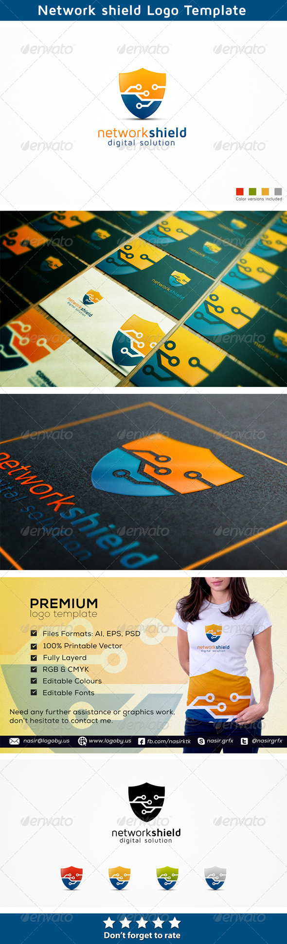 GraphicRiver Network Security 6537273