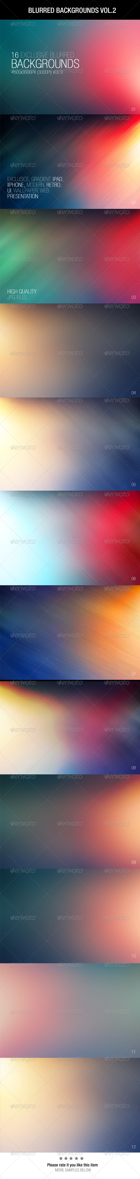 GraphicRiver Blurred Backgrounds Vol.2 6537279