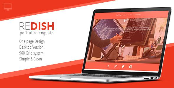 Redish - Portfolio & Bio Template