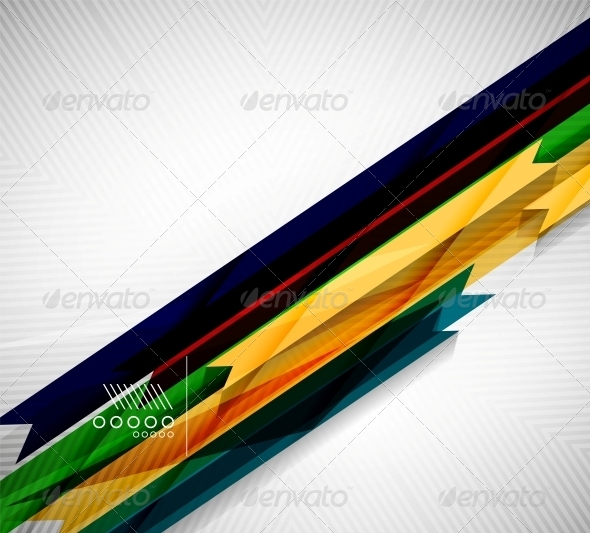 GraphicRiver Geometric Shape Straight Stripes Background 6537447