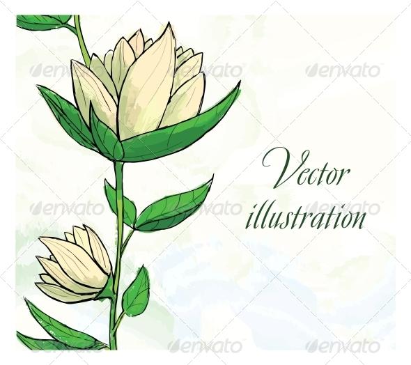 GraphicRiver Floral Design Template 6537452