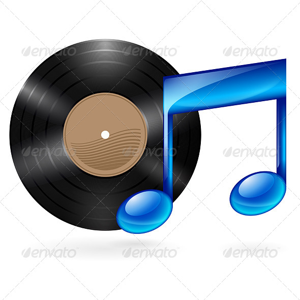 GraphicRiver Music Icon 6537717