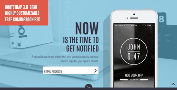 ThemeForest POMP EASY App Showcase Business Portfolio PSD 6536217