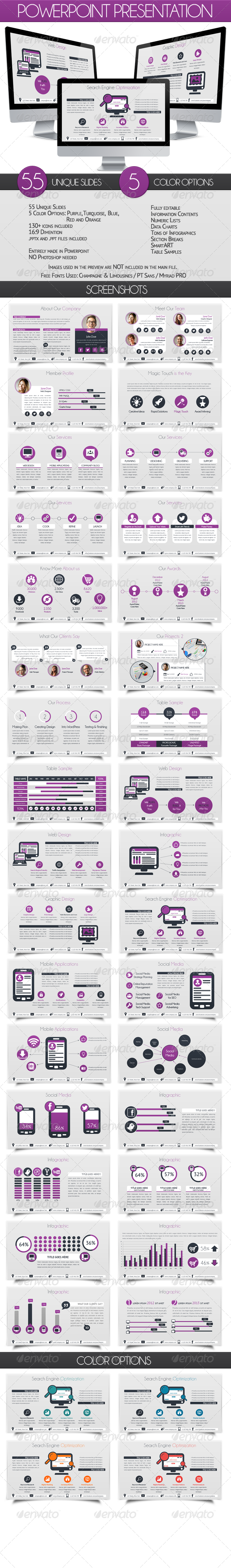 GraphicRiver Powerpoint Business Presentation 6538149