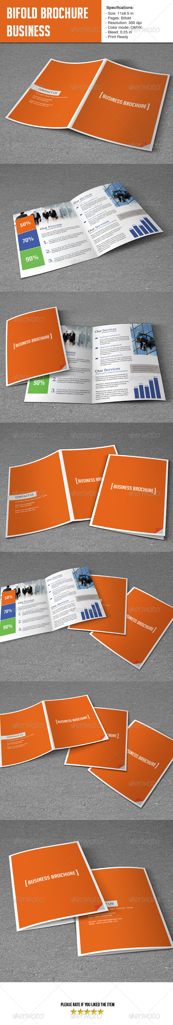 GraphicRiver Bifold Template- Business 6538359