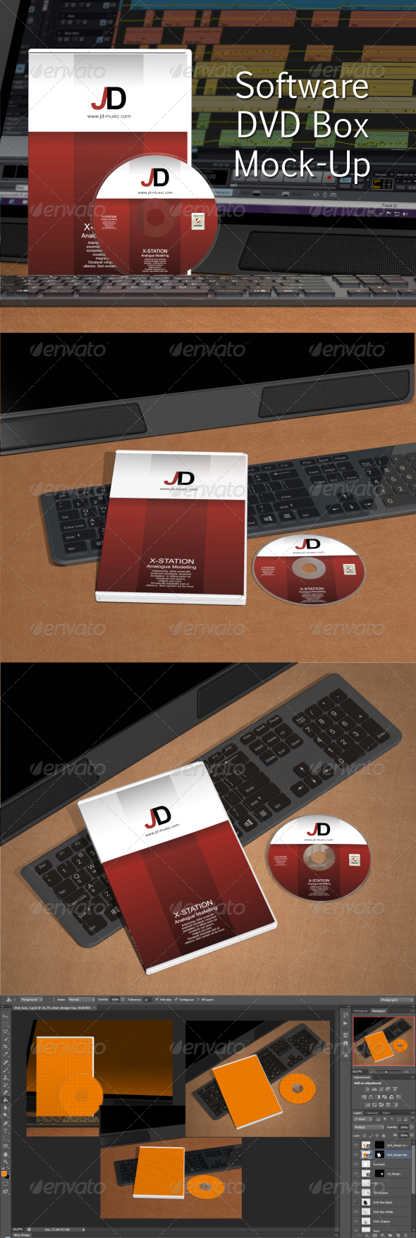 GraphicRiver Software DVD Box Mock-Up 6538617