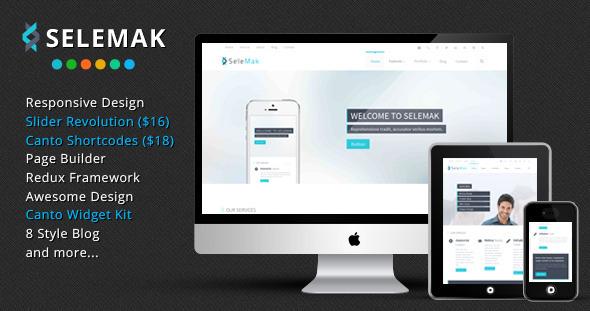 ThemeForest SeleMak Responsive WordPress Theme 6533968