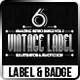 Vintage Label vol.2 - GraphicRiver Item for Sale
