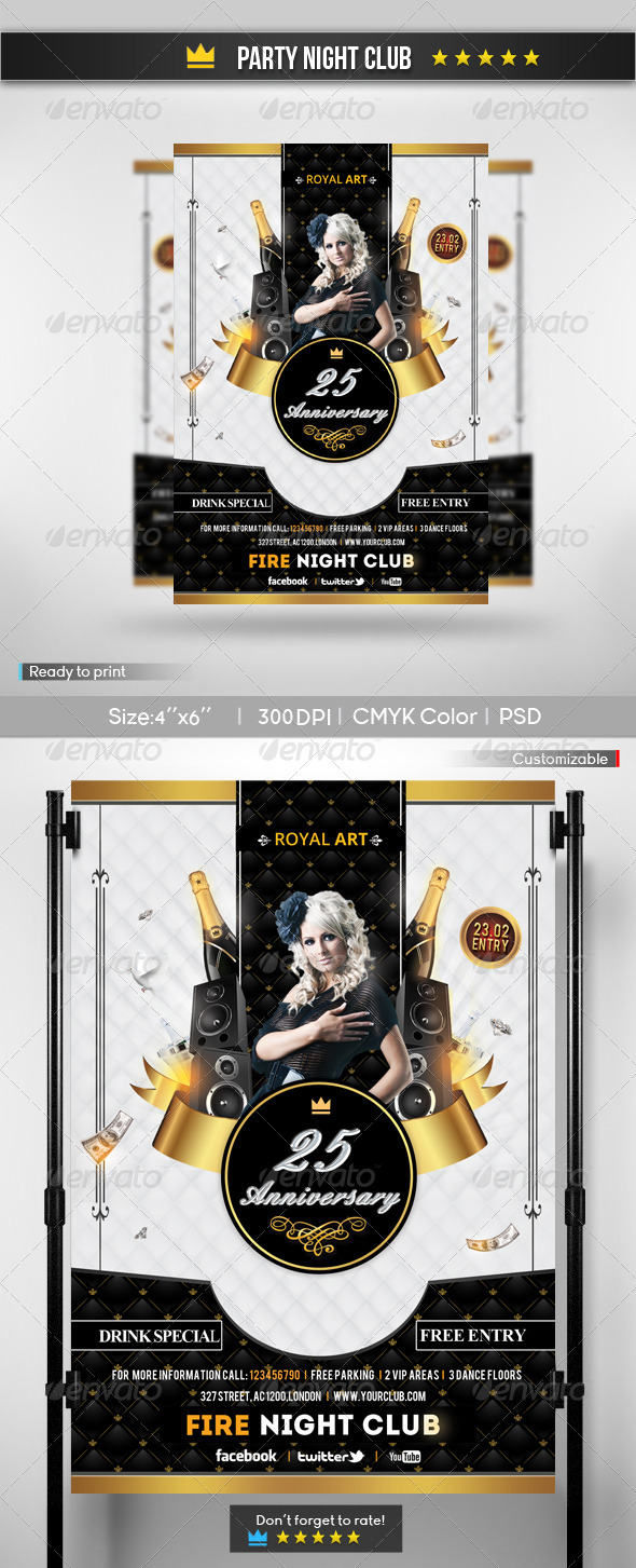 GraphicRiver Anniversary Party 6513464