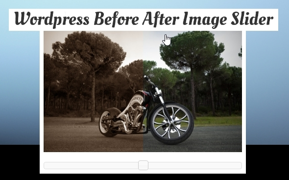 CodeCanyon WordPress jQuery Before After Image Slider 6503930