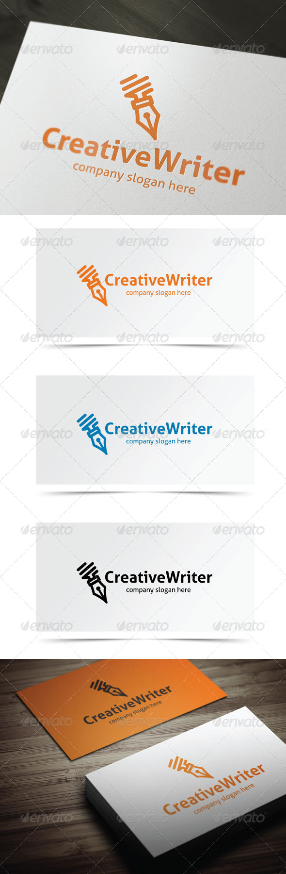 GraphicRiver Creative Writer 6539189