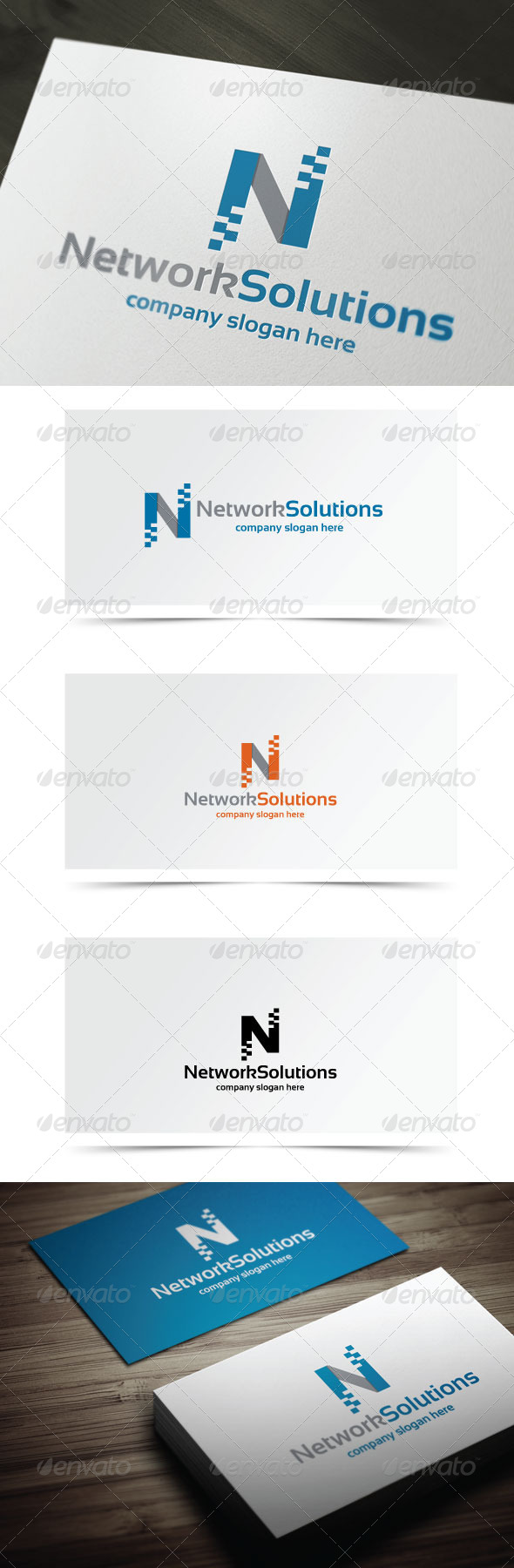 GraphicRiver Network Solutions 6539197