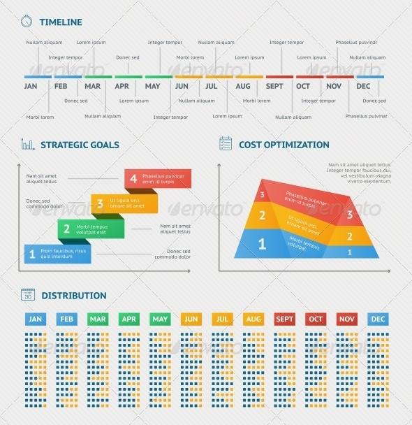GraphicRiver Business infographics charts 6539375
