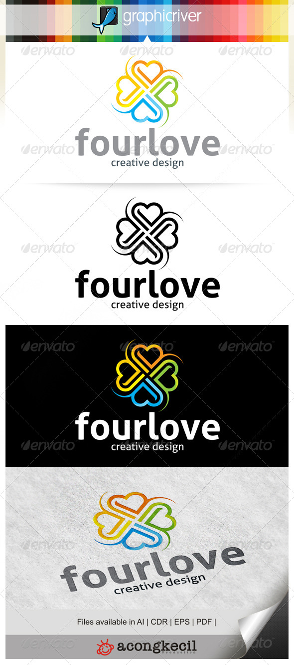 GraphicRiver Four Love 6539730