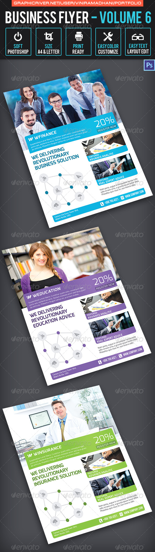 GraphicRiver Business Flyer Volume 6 6539825