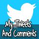 Meus tweets - Mensagens - WorldWideScripts.net artigo para a venda
